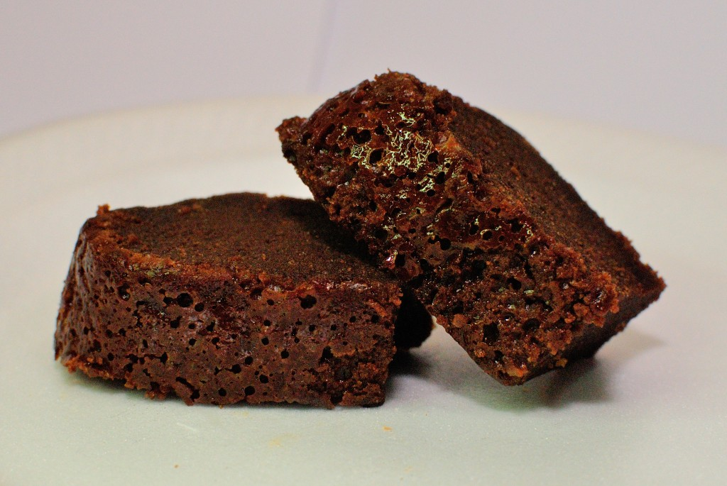 Eenvoudige chocoladecake